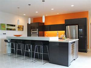 Orange Paint Colors for Kitchens: Pictures & Ideas From