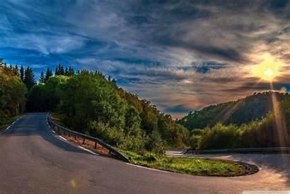 Nature Road Smartphone Background Desktop 4k Wallpapers