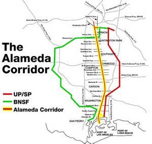 Union Pacific Railroad Track Map