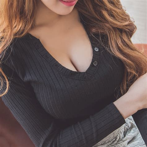 pattern v neck sweater jumper sweater low cut v neck pullover knit top