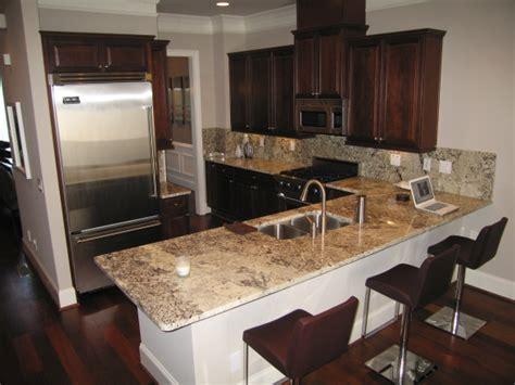 victory white granite contemporary kitchen sherwin