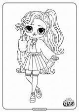 Omg Coloring Lol Pages Baby Doll Pink Surprise Popular sketch template