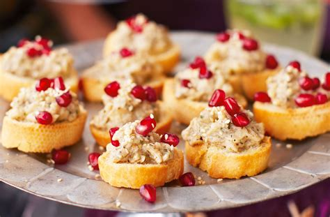 mini canape ideas canapes cheats tesco food