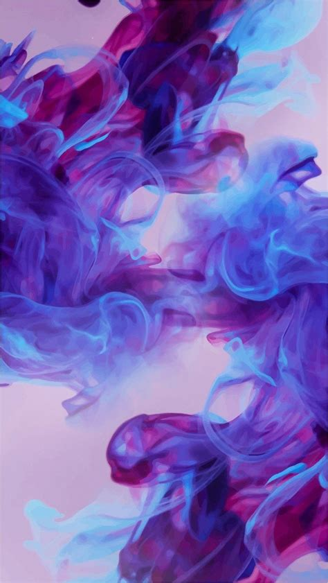 Click image to get full resolutions. 4k Blue Purple Aesthetic Wallpaper, 2020   Baskı resim ...