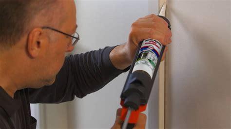 comment poser des joints sur l encadrement d une porte en int 233 rieur