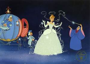 cinderella & her fairy godmother | Cinderella | Pinterest ...