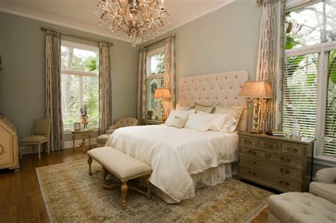 Traditional Bedrooms : Levolor-bedroom-traditional-with-antique-dresser-beige