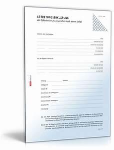 Steuern Und Versicherung Berechnen : abtretung von schadensersatzanspruch an werkstatt muster ~ Themetempest.com Abrechnung