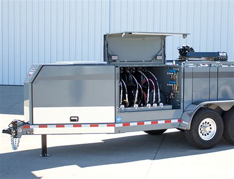 Mobile Lube Service by 440 Gallon Configurable Lube And Mobile Service Trailer