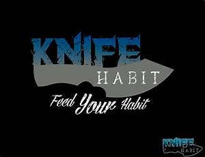 Knife Habit Skull with Blade Teeth T-shirt - Knife Habit