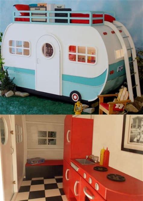 bild  die verruecktesten kinderbetten lets  camping