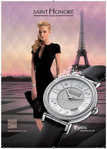 Advertising Saint Watches Campaign Ladies Honore Campaigns