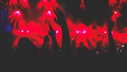 Concert Hands Background 1080p Silhouettes Hdtv Fhd