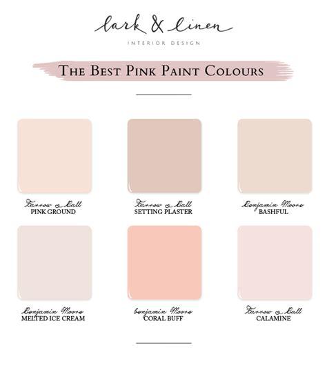 my favourite pink paint colours lark linen