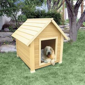 Show Your Dog Some Love, Buy Him A Warm Wooden Dog House