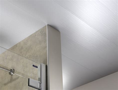 White Ash Matt Bathroom Wall Cladding