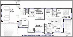 4 bedroom house plans kit homes australian kit homes With four bed room house plans