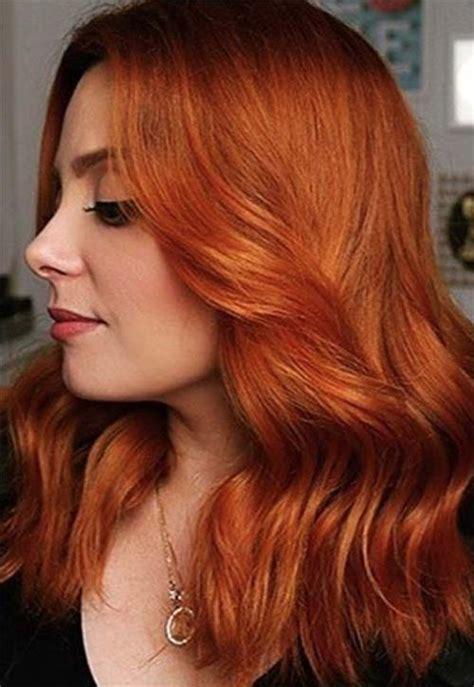 25 best ideas about orange brown hair on warm