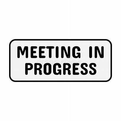 Meeting Door Progress Office Bell
