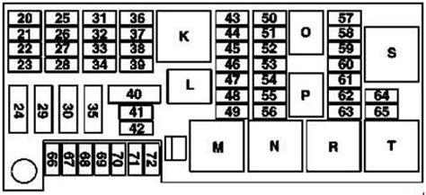 2009 Mercede E Clas Fuse Diagram by Mercedes R Class W251 Fuse Box Diagram Auto Genius