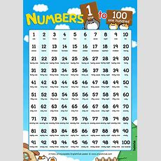 Numbers 1 To 100 Counting Chart  English For Kids  Kids Englishclub