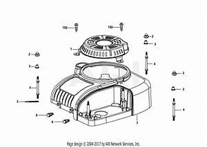 Mtd 13w2775s031  Lt4200   2014  Parts Diagram For 4p90jub Engine Shroud