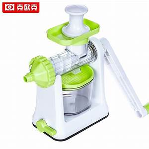 Keok Manual Juicer Household Hand Juice Machine Vegetable