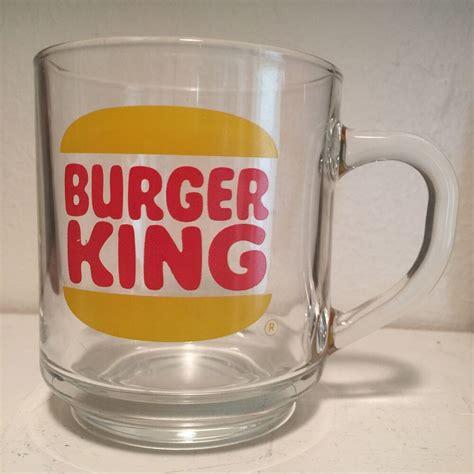 Hizmet sağlayan restoranlarımızın listesi için tıklayınız! Vintage Burger King Clear Glass Luminarc Coffee Mug Cup Not Fire King | eBay