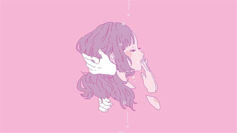 pink anime aesthetic desktop wallpapers