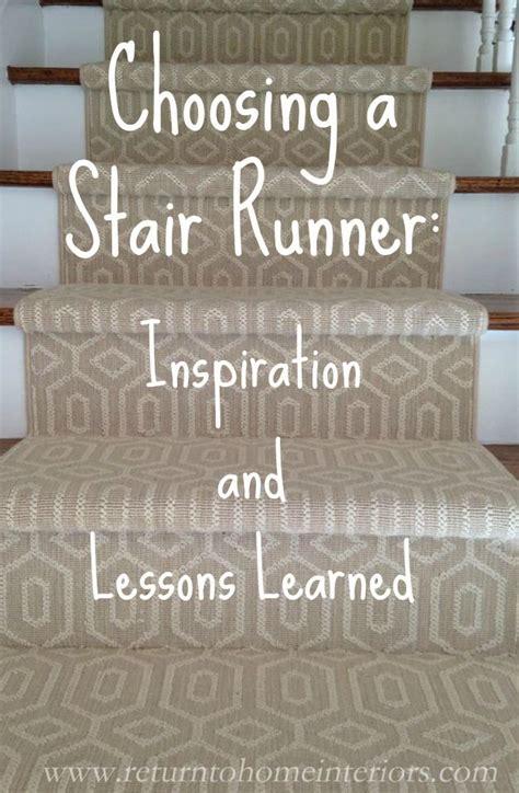 Install Carpet Runner by Best 25 Carpet Stair Runners Ideas On Pinterest Stair