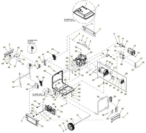 Generac Xpe Parts Diagram For Full Assembly