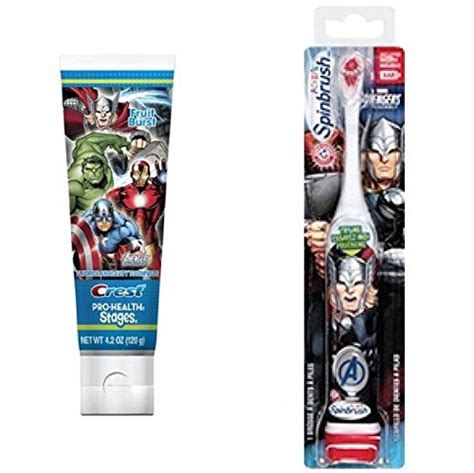 from usa arm and hammer spinbrush marvel heroes thor