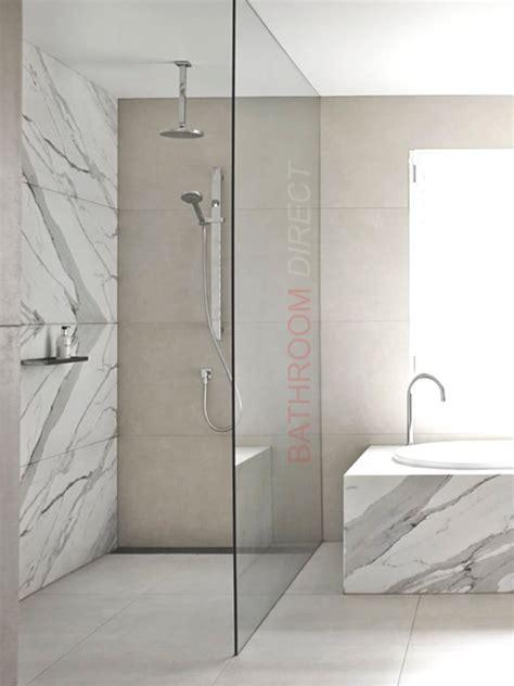 fixed panel shower screen bathroom direct