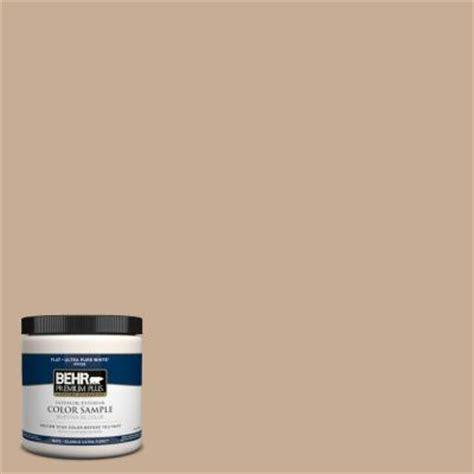 behr premium plus 8 oz 280e 3 toasted wheat interior exterior paint sle 280e 3pp the home