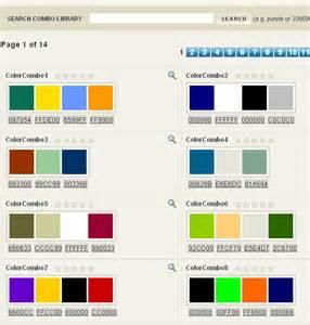 Good Website Color Combinations