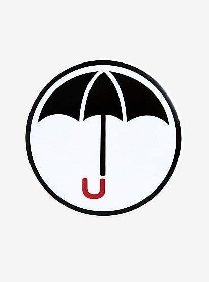 The Umbrella Academy Logo Button | Academy logo, Umbrella ...