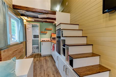 tiny homes interior designs custom finished tumbleweed mobile tiny house idesignarch