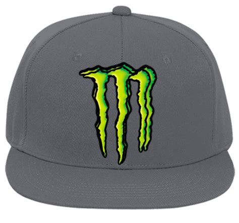 monster energy hat flat bill fitted hats