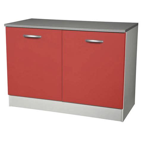 magasin evier cuisine meuble de cuisine bas 2 portes h86x l120x p60cm