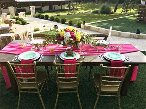 farm table 8 and wedding rentals for denton and