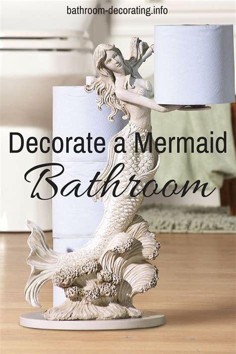 decorate  mermaid bathroom mermaid bathroom decor