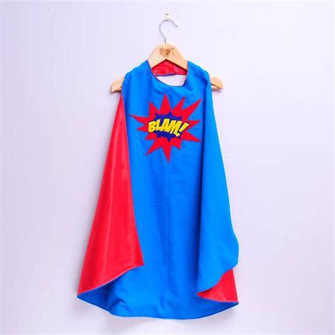 cape designs custom superhero cape with slogan by alice cook designs notonthehighstreet com