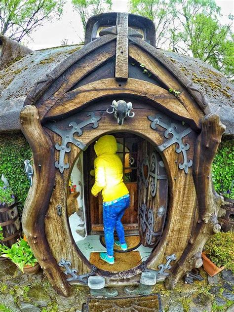 hobbit house real hobbit house imagines the fantastical book into