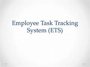 Employee Time And Task Tracking System