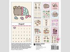 Pusheen the Cat Wall Calendar 9781449478698 Calendarscom