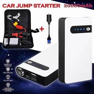 Auto Jmp : 12v 20000mah white portable car jump starter power bank emergency auto battery booster pack ~ Gottalentnigeria.com Avis de Voitures