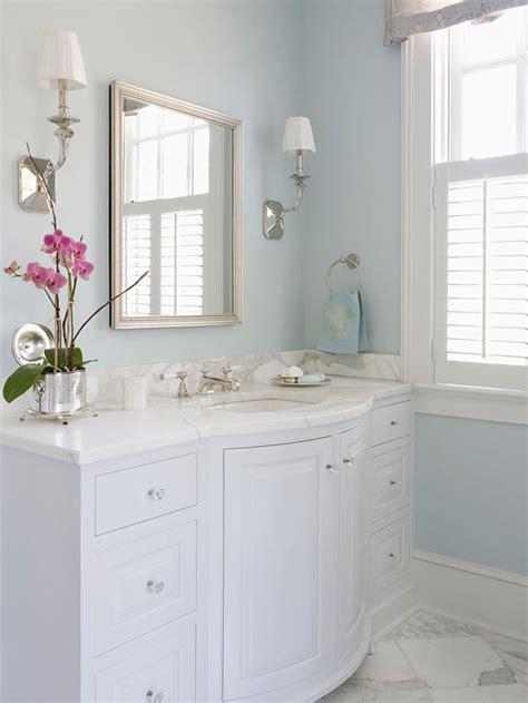 bow front vanity traditional bathroom bhg