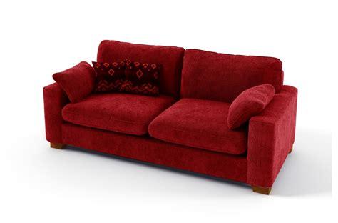 canap 233 3 places en tissu de qualit 233 cosy mobilier priv 233