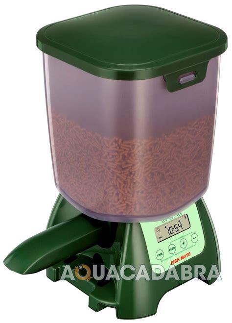 fish feeder pond fish mate automatic feeder auto pond aquarium tank
