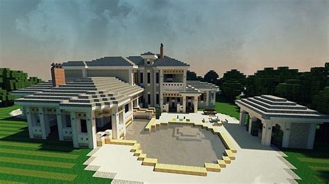 plantation mansion minecraft house build ideas  minecraft building